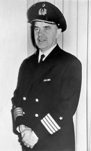"""Kapitän Gerhard Junack war an Bord der """"Bismarck"""", als sie sank. Nach Kriegsende widmete er sein Leben der Schiffssicherheit."""