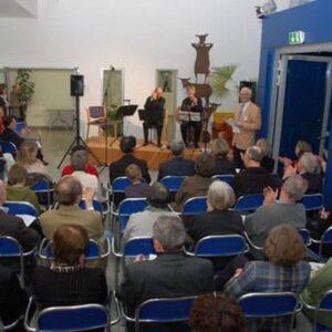 """Jan-Ulrich Bernhardt begrüßte fast 150 Gäste zum Konzert Tango-Manzana in der Reihe """"Ars Secumaris"""""""