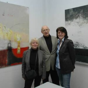 Bärbel Navab-Pour (v.l.), Jan-Ulrich Bernhardt und Gunda Jastorff