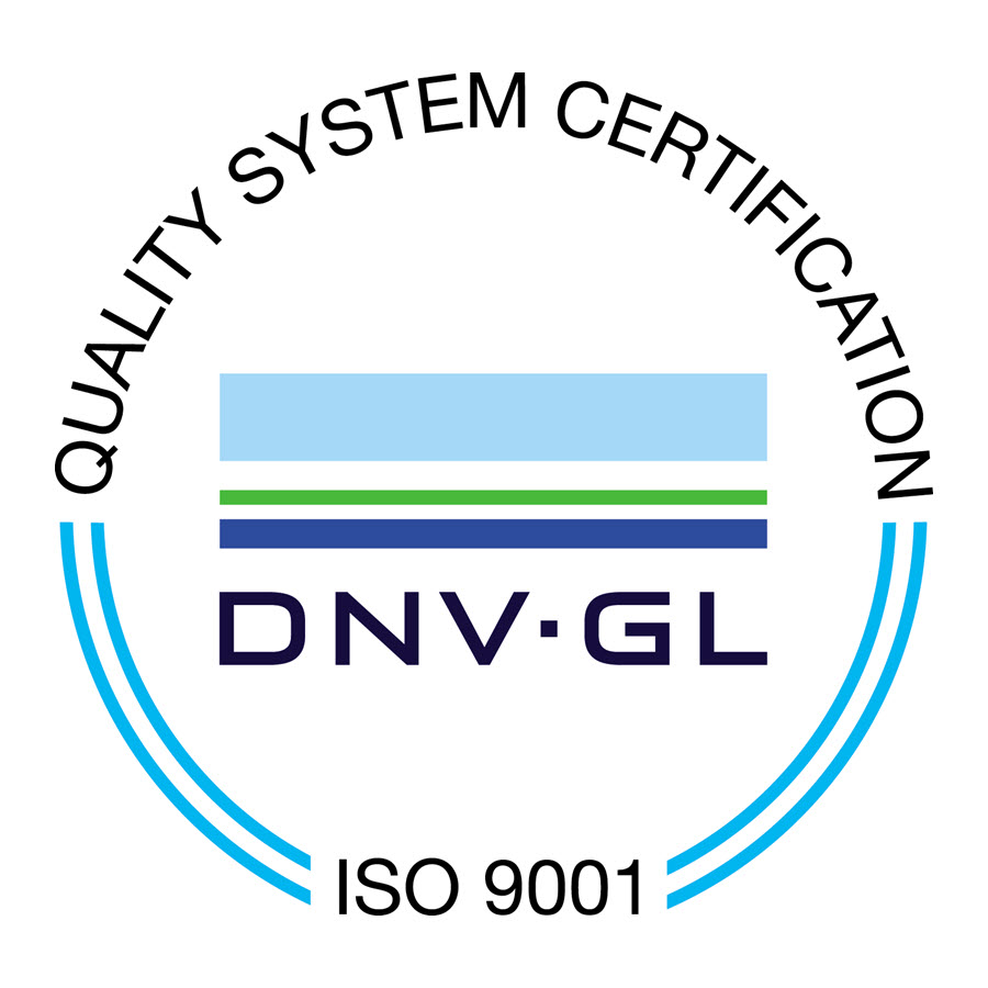 ISO 9001 Quality System Certification - DNVGL