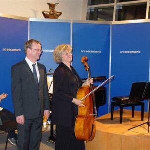 """Hartmut Leistritz (Klavier) und Claudia Schwarze (Cello) gestalteten einen Abend des """"Sturm und Drang"""""""