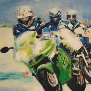 Heike Grebbin - Motorrad