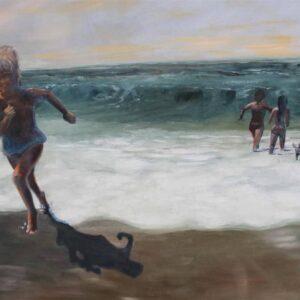 "RuthEECordes - ""Insich"" Öl auf Leinwand 100 x 80 cm, 2015"
