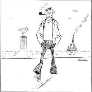 In Schwimmphysik gibt guten Rat der Seemann Willi SECUMAAT.