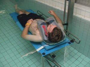 SECUMAR 9S - Schwimmkragen für die Badetherapie