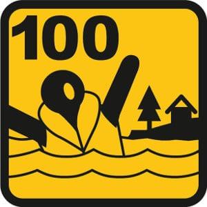 100 N Leistungsklasse der ISO-Norm 12402