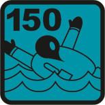 150 N Leistungsklasse der ISO-Norm 12402