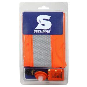 Bolero Pack mit Sprayhood und SECULUX Seenotleuchte