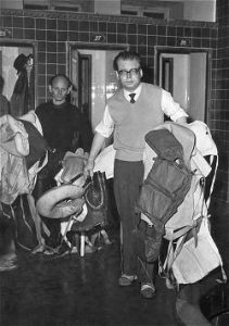 Jost Bernhardt 1959 - Testing all lifejackets available on the market