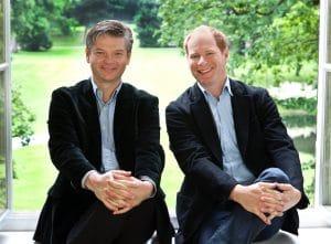 """ars secumaris auf """"Winterreise"""": Christopher Jung und Piotr Oczkowski"""