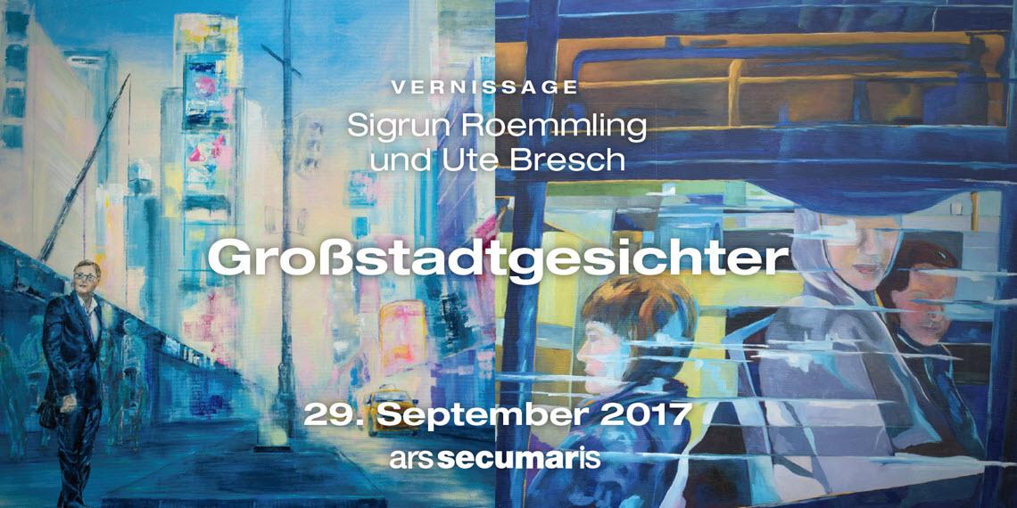 ars secumaris - Großstadtgesichter