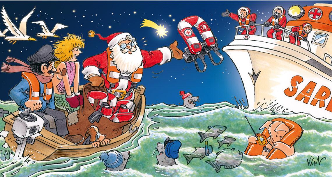 SECUMAR Weihnachtskarte 2017