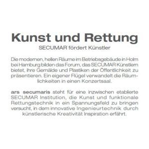 ars secumaris - Kunst und Rettung