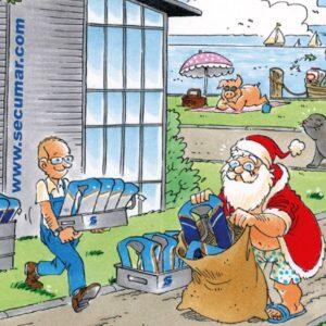 SECUMAR Weihnachtskarte 2018