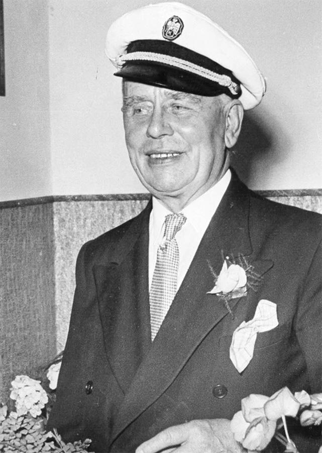 Firmengründer Karl Bernhardt im Jahr 1951